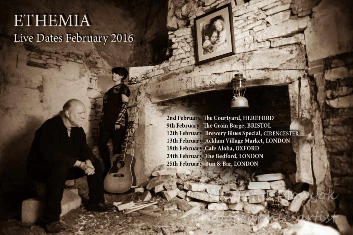 February 2016 Live Dates
